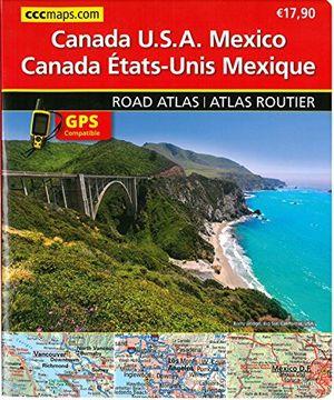 Noord-Amerika wegenatlas