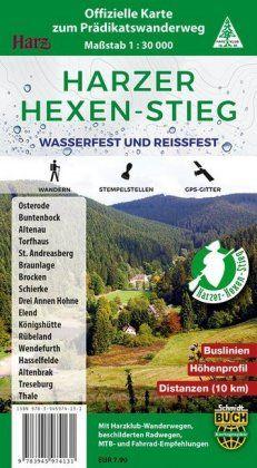 Harzer Hexen-Stieg 1:30.000 Wasserfest