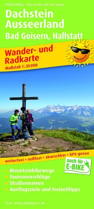 Dachstein / Ausseerland / Bad Goisern / Hallstatt wandel- & fietskaart