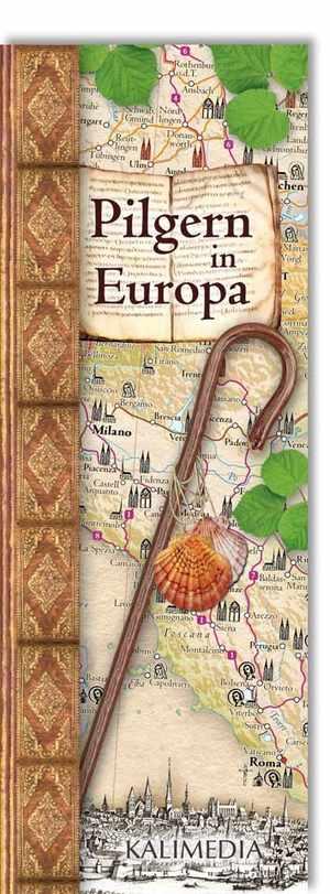 Pilgern In Europa Ubersichtskarte