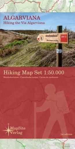 Algarviana Hiking Map 1:50.000 Via Algarviana