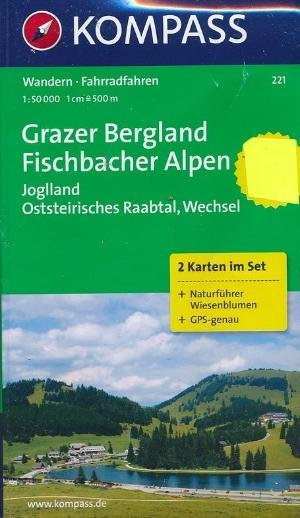 Kompass WK221 Grazer Bergland