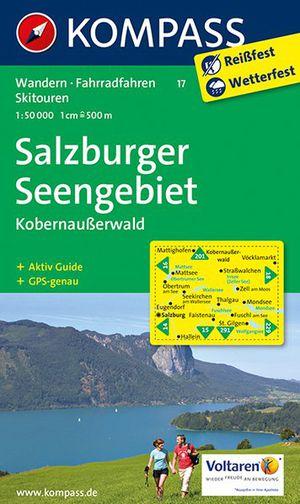 Kompass WK17 Salzburger Seengebiet, Kobernausserwald