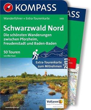 Schwarzwald Nord, Die schönsten Wanderungen zwischen Pforzheim, Freudenstadt und Baden-Baden