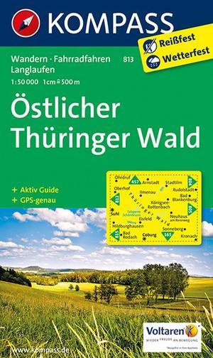 Kompass WK813 Östlicher Thüringer Wald