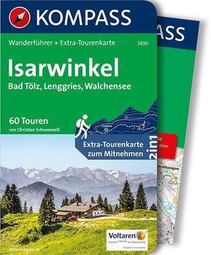 Isarwinkel Bad Tolz Kompass wandelgids WF5430