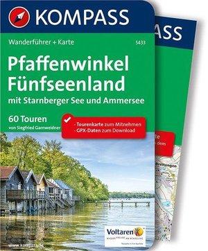 Pfaffenwinkel, Fünfseenland Kompass wandelgids WF5433