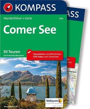 Comer See / Comomeer Kompass wandelgids WF5746