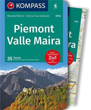 Kompass WF5756 Piemont, Valle Maira