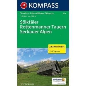 Kompass WK223 Solktaler, Rottenmanner Tauern, Seckauer Alpen