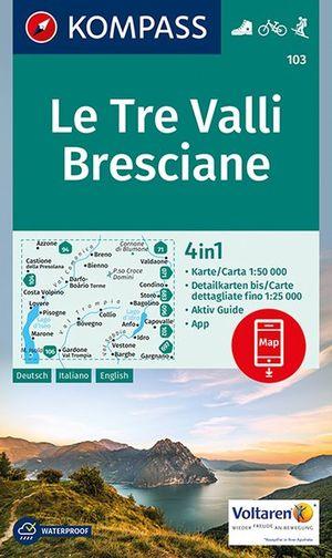 Kompass WK103 Tre Valli Bresciane