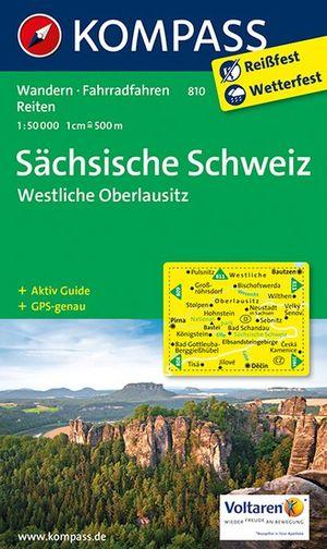 Kompass WK810 Sächsische Schweiz, Westliche Oberlausitz
