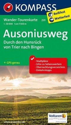 K2511 Ausoniusweg 1:50.000 Trier - Bingen