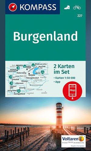 Kompass WK227 Burgenland