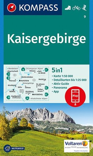 Kompass WK9 Kaisergebirge