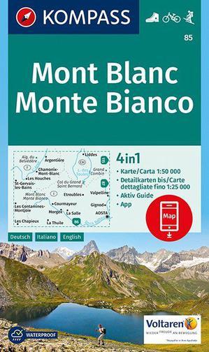 Kompass WK85 Mont Blanc / Monte Bianco