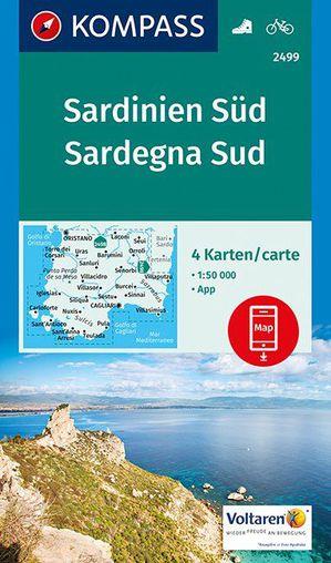 Kompass WK2499 Sardinie Zuid