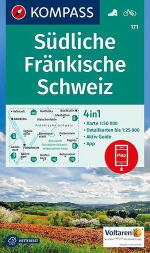 Südliche Fränkische Schweiz 1 : 50 000