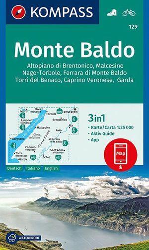 Kompass WK129 Monte Baldo  1:25 000