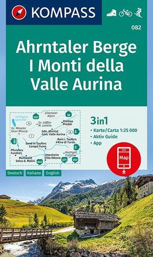 Ahrntaler Berge, I Monti della Valle Aurina 1:25 000