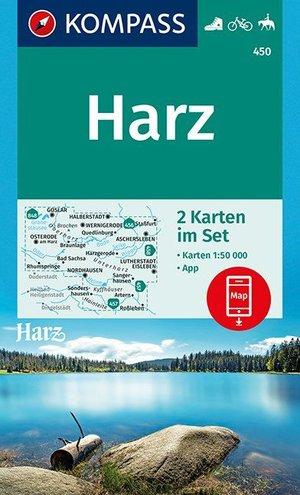 Kompass WK450 Harz 1:50.000
