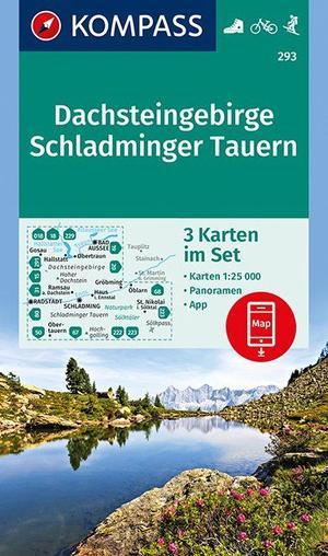 WK293 Dachsteingebirge, Schladminger Tauern 1:25 000
