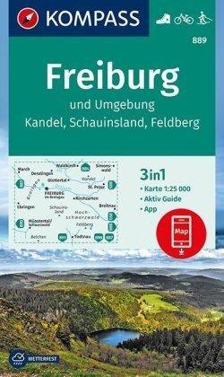 Kompass Wk889 Freiburg Und Umgebung