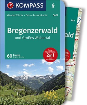 Kompass WF5401 Bregenzerwald und Großes Walsertal