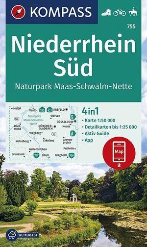 WK755 Niederrhein Süd: Naturpark Maas-schwalm-nette