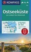 Kompass WK724 Ostseeküste Von Lübeck Bis Dänemark
