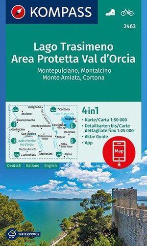 wk2463 Lago Trasimeno / Area Protetta / Val d'Orcia D/E/I