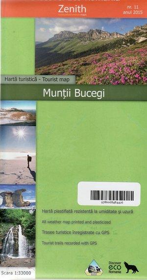 Munti Bucegi 1:33.000 Eco Romania 11