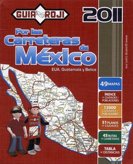 Mexico Road Atlas Guia Roji 2011