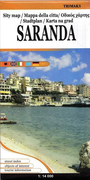 Saranda 1:126:000 (zuid-albanie) Trimaks