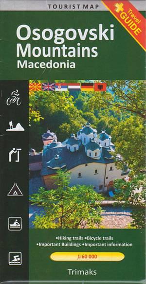 Wandelkaart Osogovski 1:60.000 Trimaks