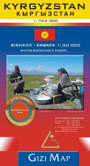 Kyrgyzstan geogr.