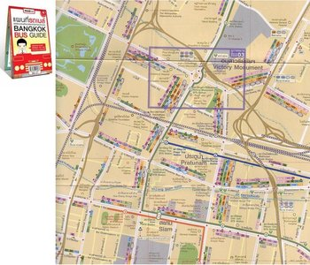 Bangkok Bus Guidemap 1:18.000 - 1:80.000