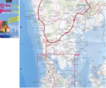 Phuket Krabi Trang Phangnga 1:250.000