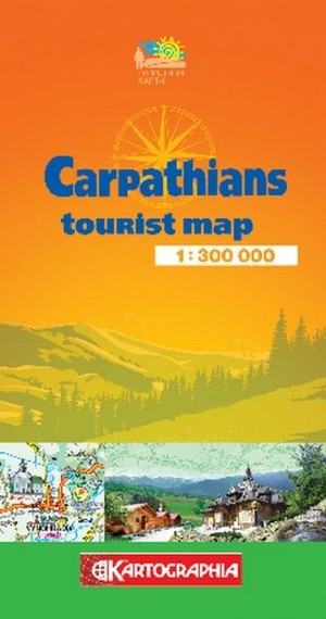 Carpathians Tourist Map