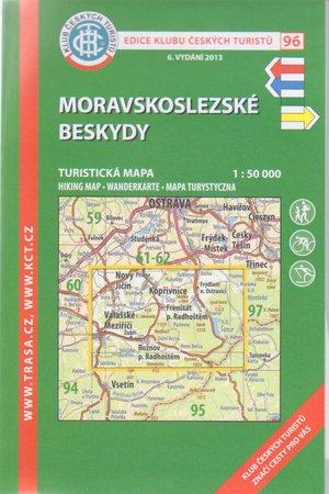 Kct96 Moravskoslezske Beskydy 1:50.000