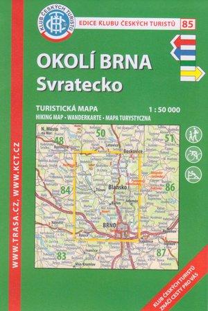 Kct85 Okoli Brna- Svratecko 1:50.000