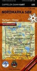 Ck400 Nordmarka Sor Turkart Vinter 1:25.000