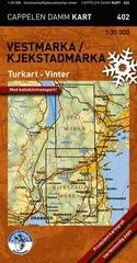 Ck402 Vestmarka Kjerkstad Vinter 1:30.000