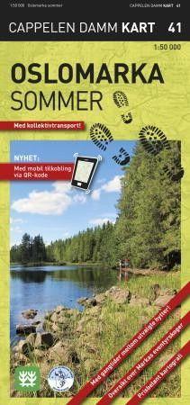 Ck41 Oslomarka Sommer 1:50.000