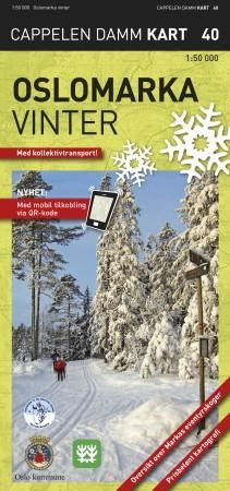 Ck40 Oslomarka Winter Vinter 1:50.000