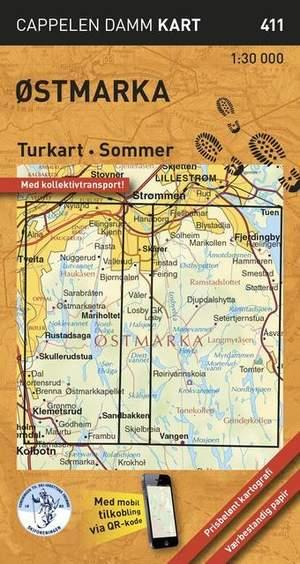 Ostmarka Turkart Sommer 1:30d 411