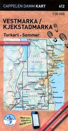 Vestmarka Turkart Sommer 1:30d 412