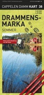 Ck38 Drammensmarka Sommer 1:50.000/1:25.000