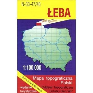 N-33-47/48 Leba 1:100.000