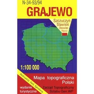 N-34-93/94 Grajewo 1:100.000